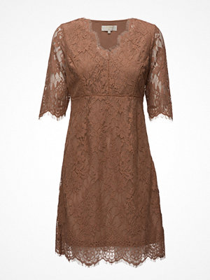 Cream Adriana Lace Dress