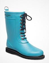 Gummistövlar - Ilse Jacobsen Rain Boot - Mid Calf, Classic With Laces