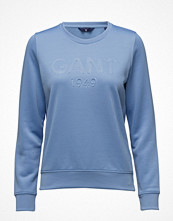 Gant O1. Gant Embossed C-Neck Sweat