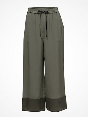 3.1 Phillip Lim omönstrade byxor Cropped Wide Leg Pant-Cdc