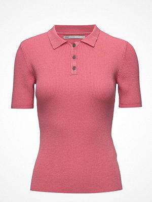 Pikétröjor - Only Onlsusan 2/4 Rib Polo Pullover Knt
