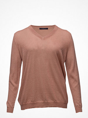 Violeta by Mango Fine-Knit Metallic Sweater