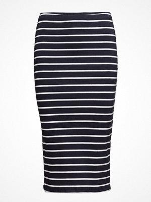Only Onlabbie Stripe  Calf Skirt Noos