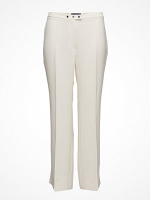 Violeta by Mango Flowy Straight-Fit Trousers