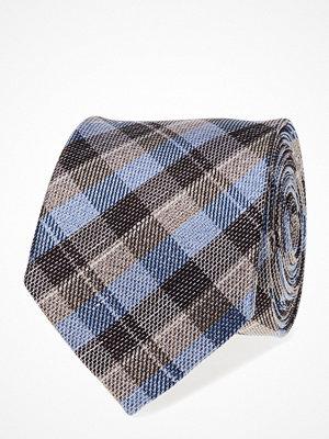 Slipsar - ATLAS DESIGN Tie Linen Check
