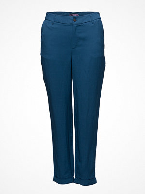 Violeta by Mango Linen Baggy Trousers