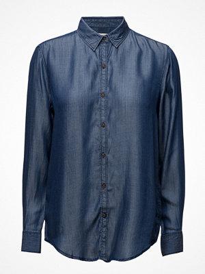 Mango Dark Denim Shirt