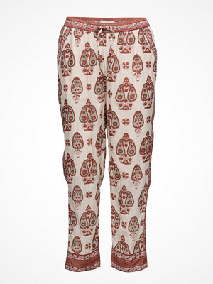 Scotch & Soda Cotton Printed Summer Pant With Border Print