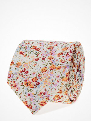 Slipsar - ATLAS DESIGN Tie Printed Flower