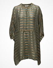 Tunikor - Rabens Saloner Metallic Stripe Shirt Dress