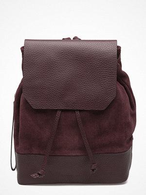 Royal Republiq omönstrad ryggsäck Bucket Backpack Petite Suede