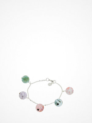 Smycken - SNÖ of Sweden Rose Charm Brace S/Mix