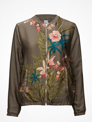 Saint Tropez Place Flower Printed Bomber