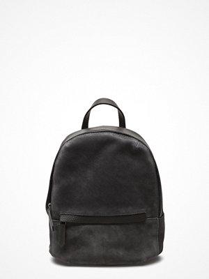 Royal Republiq svart ryggsäck Encore Backpack Petite Suede