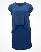 Violeta by Mango Contrast Cupro Dress