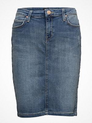 Lee Jeans Pencil Skirt Lt Urban Indigo