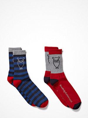 Strumpor - Knowledge Cotton Apparel Tennis Socks 2pack
