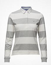 Pikétröjor - Gant Barstripe Jersey Rugger Ls