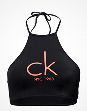 Bikini - Calvin Klein High Neck Crop Top 0