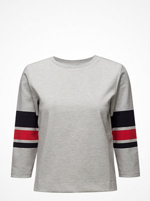 Tröjor - Saint Tropez Block Striped Sweat