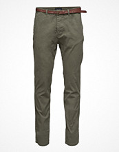 Byxor - Scotch & Soda Classic Garment Dyed Chino Pant In Stretch Cotton
