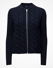 Cardigans - Gant O1. Lambswool Cable Zip Jacket