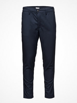 Byxor - Selected Homme Shdkay Navy Tapered St Trouser