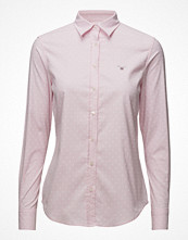 Skjortor - Gant Stretch Oxford Printed Dot Shirt