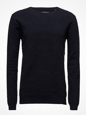 Tröjor & cardigans - Lindbergh Speciel Structured O-Neck Knit