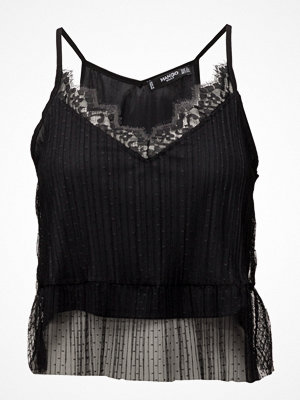 Mango Lace Tulle Top