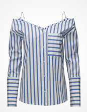 Skjortor - Mango Striped Off-Shoulder Blouse
