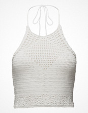 Linnen - Mango Crochet Top