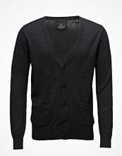 Tröjor & cardigans - Scotch & Soda Classic Cardigan In Merino/Cotton Quality