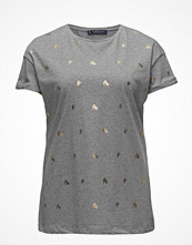 T-shirts - Violeta by Mango Printed Cotton T-Shirt