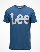 T-shirts - Lee Jeans Logo Tee Workwear Blue