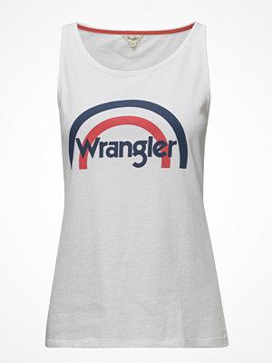 Wrangler Rainbow Tank White