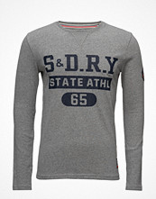 T-shirts - Superdry Superstate L/S Varsity Tee