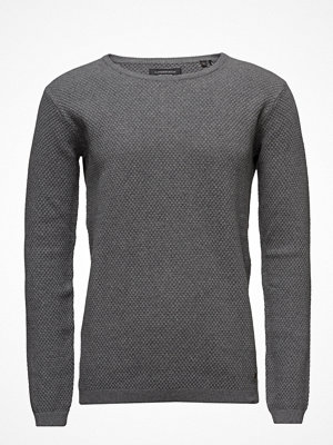 T-shirts - Lindbergh O-Neck Knit W.Special Strucktu