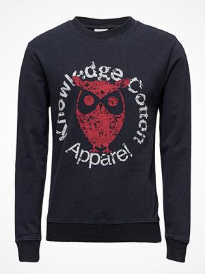 Knowledge Cotton Apparel Sweat W/ Owl Print - Gots