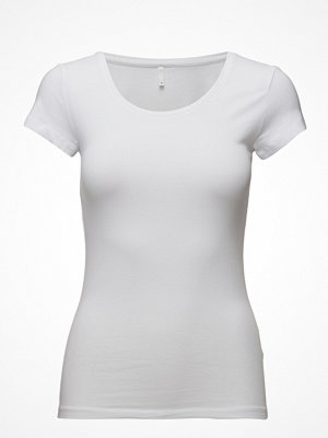Only Onllive Love New Ss O-Neck Top Noos