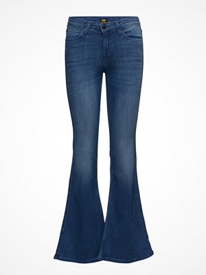 Lee Jeans Skinny Flare Worn Pacific