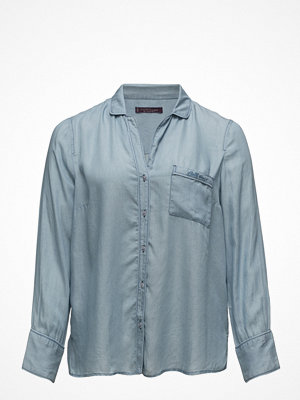 Violeta by Mango Pocket Denim Shirt