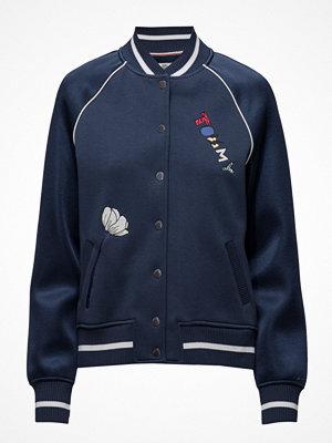 Hilfiger Denim Thdw Hknit Varsity Jacket L/S 17