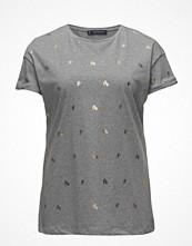 Violeta by Mango Printed Cotton T-Shirt