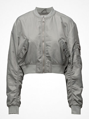 Cheap Monday ljusgrå bomberjacka Bling Bomber