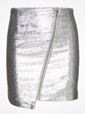 Zoe Karssen Asymmetric Zip Mini Skirt