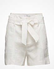 Shorts & kortbyxor - Mango Textured Ramie-Blend Shorts