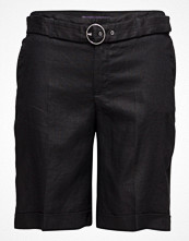 Shorts & kortbyxor - Violeta by Mango Belt Linen-Blend Bermuda Shorts