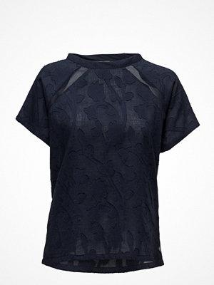 Coster Copenhagen Short Sleeve Cotton Jacquard Top