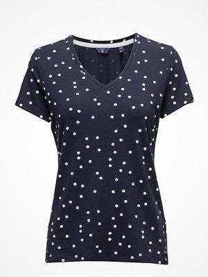 Gant O. Dotted Fluid V-Neck T-Shirt